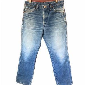 VTG 80's or 90's Wrangler rigid 100% cotton jeans
